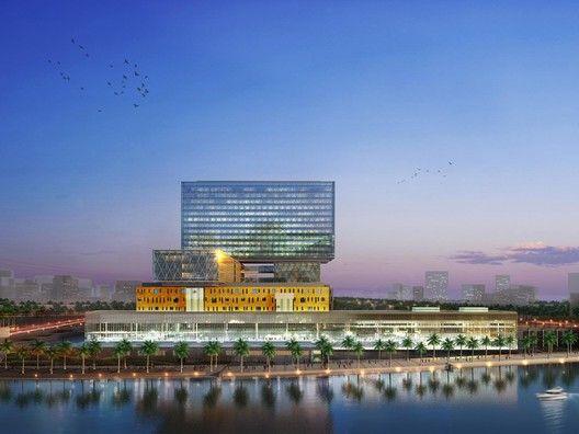 Cleveland Clinic Abu Dhabi Courtesy Of Hdr Architecture Hdr Architecture Cleveland Clinic Healthcare Architecture