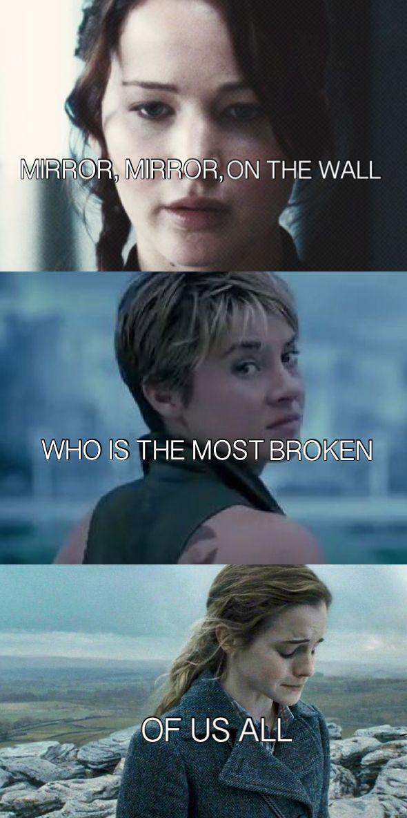 Divergent, tris prior, hunger games, Katniss everdeen, Harry Potter, hermione granger
