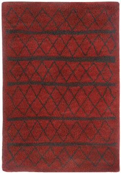 The Tangier Rug In Red Is A New To Capel That Transitional