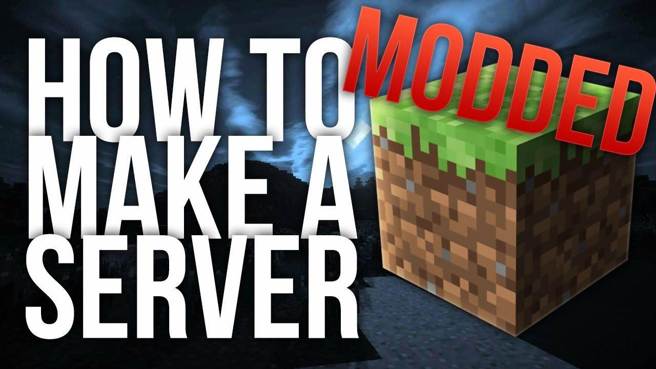 How To Make A Modded Minecraft Server Minecraft Mods Minecraft How To Make