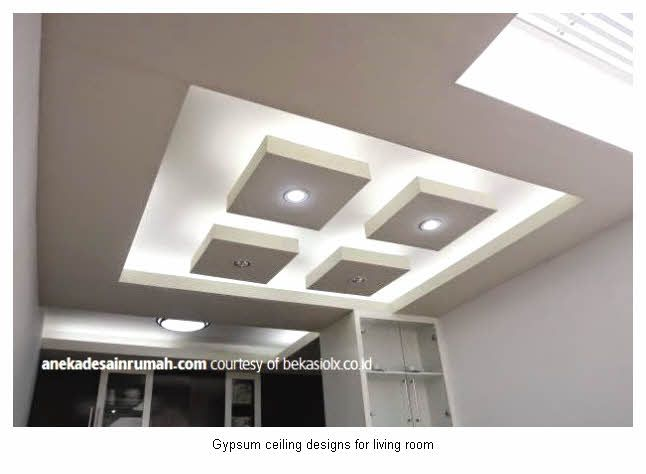 Gypsum Ceiling Designs For Living Room Delectable Modern Gypsum Ceiling Designs For Living Room 14  Dekorasi Design Decoration