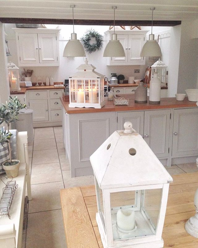 Soft Grey Kitchen Making A House A Home Pinterest Danish - Soft grey kitchen