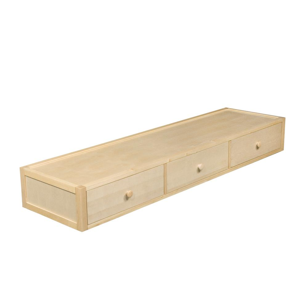 Best Under Bed 75 In X 10 In Natural Pull Out Drawer 9910N50 400 x 300