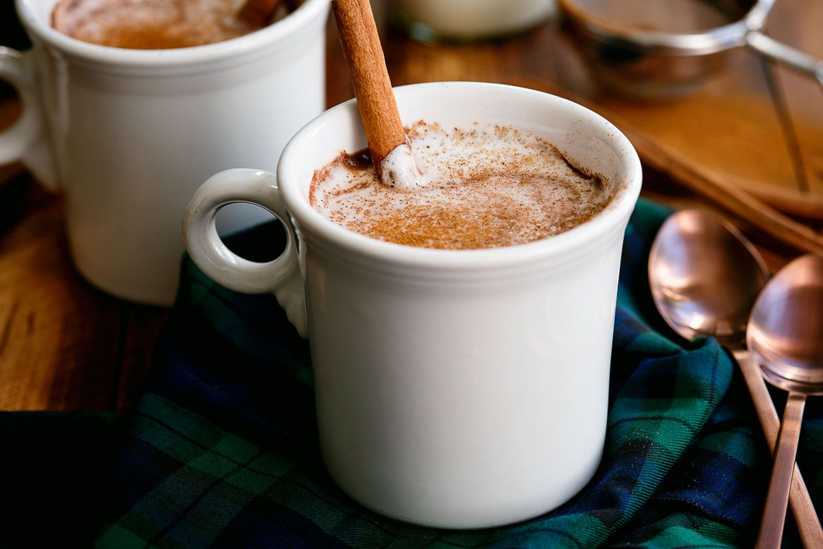Authentic Mexican Hot Chocolate #hotchocolaterecipe