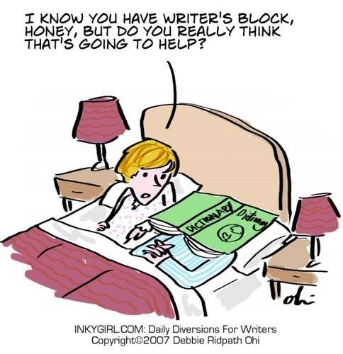 Dissertation writers block
