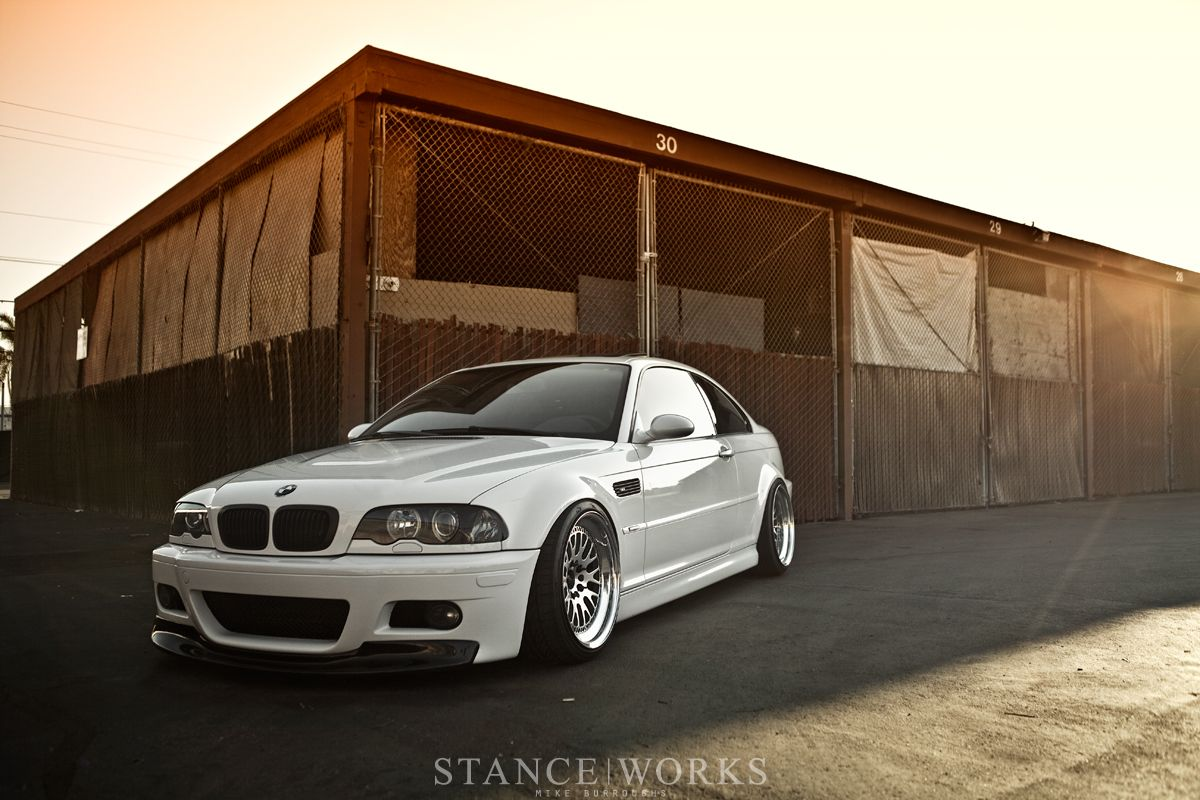 Bmw E46 M3 With Ccw Classics Stanceworks Com One Day I Ll Get One