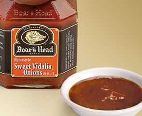All Natural, Sweet Vidalia® onions, sliced and slowly simmered.