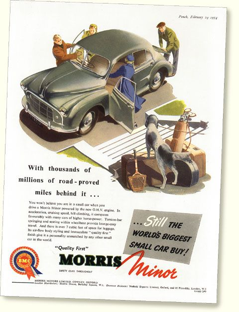 Pin By Terry Strower On Ads Morris Minor Retro Cars Small Cars