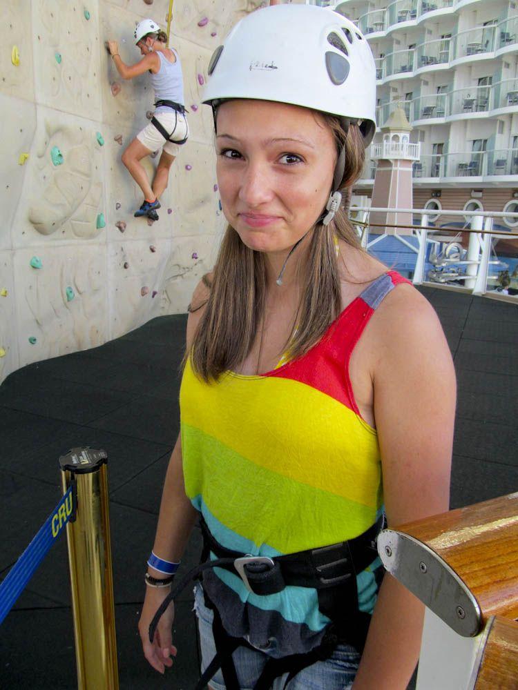 So excited for rock climbing :\ nottt