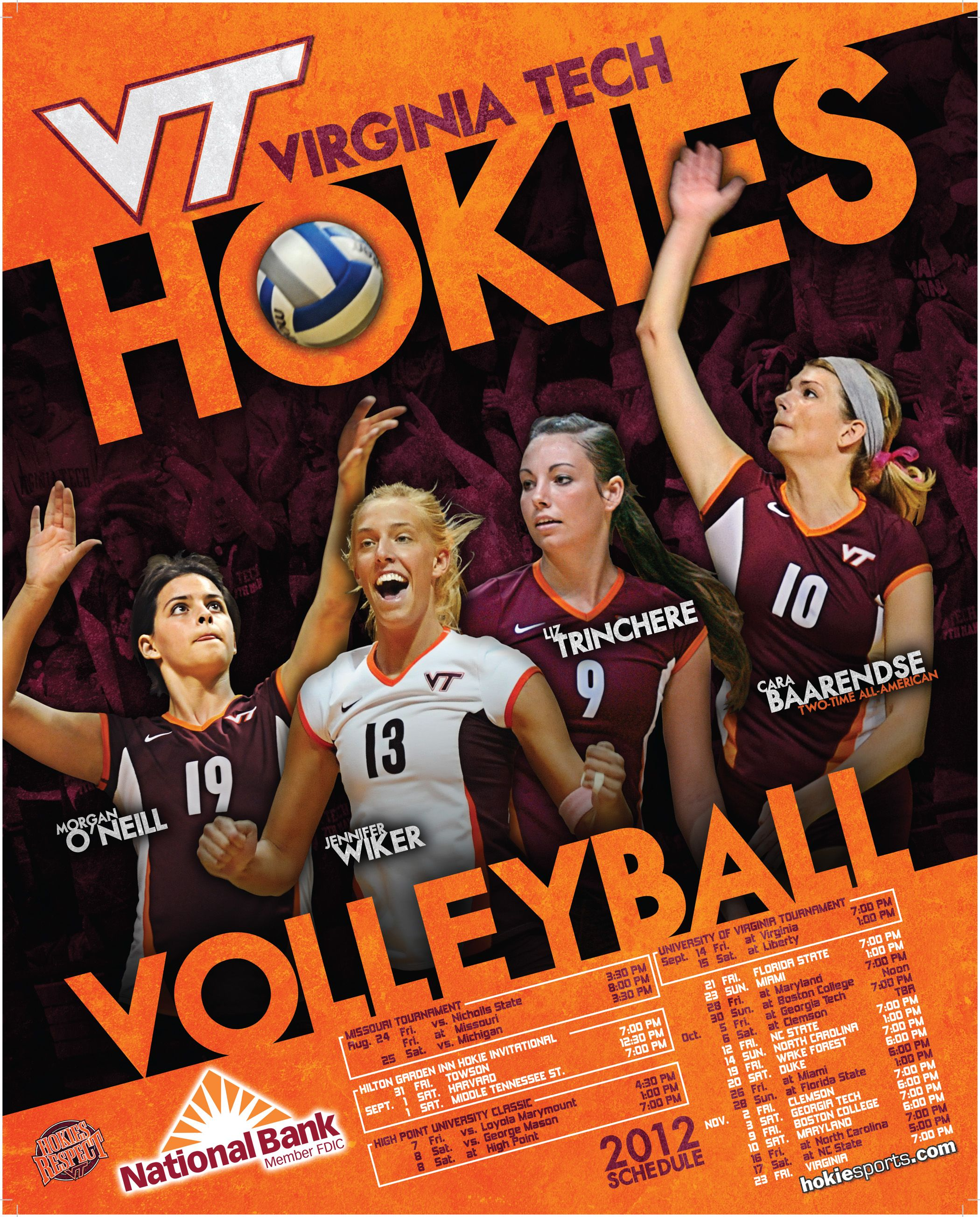 2012 Volleyball Poster Volleyball Posters Sport Poster Volleyball