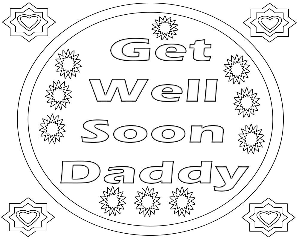 Get Well Soon Coloring Pages Coloring Pages Get Well Free Coloring Pages