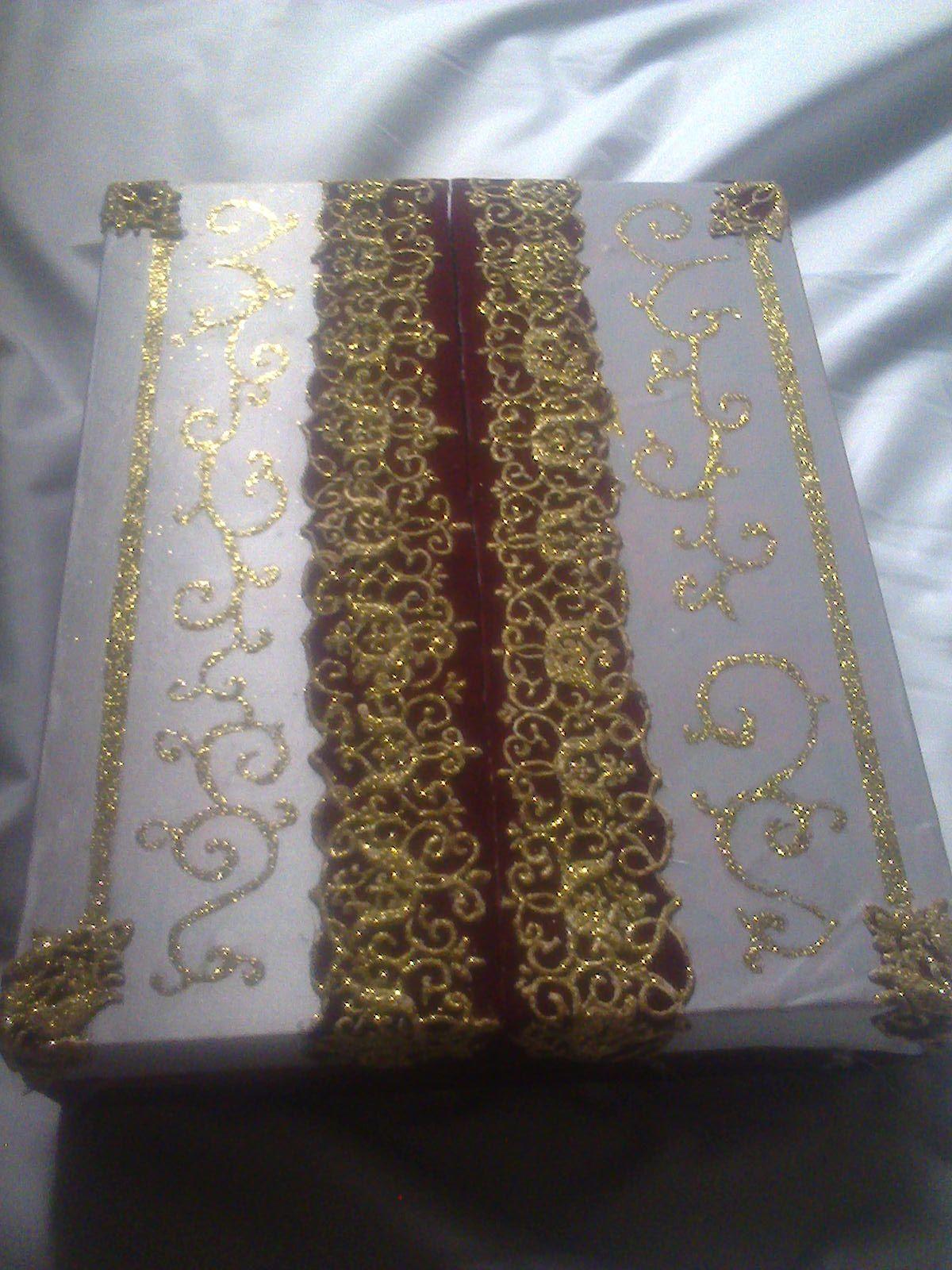 العلبة بعد التغلف والتزيين Gold Bracelet Gold Jewelry