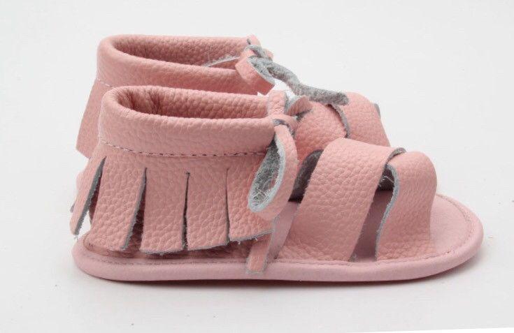 Pink Boho Sandals Soft Sole