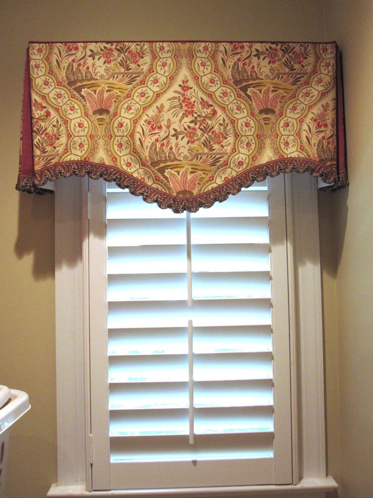 Exceptionnel Bath Valance Idea? Valance Window Treatments, Small Window Treatments, Window  Valances, Bathroom