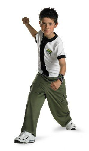 Ben 10 Child Costume Size 4-6 by Scarecrow Inc.. $21.99. Includes: Shirt, pants, and omnitrix device. Shoes not included. This is an officially licensed Ben 10 costume.. Save 33% Off!