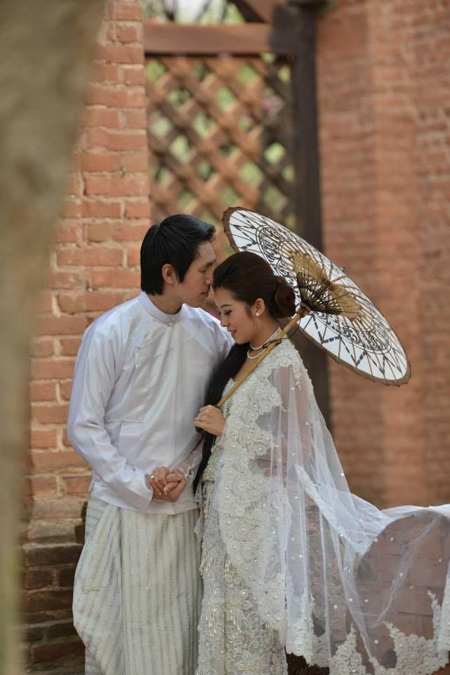 Burmese Traditional Wedding | What I call Elegance | Pinterest ...