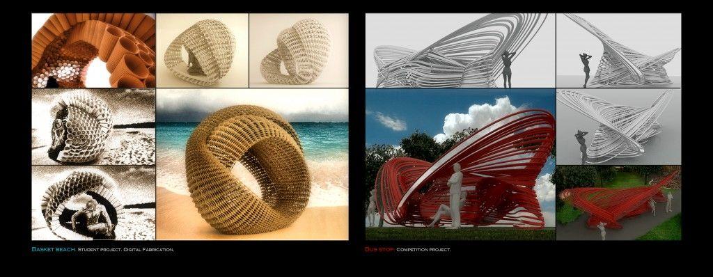 Beach basket / Bus Stop