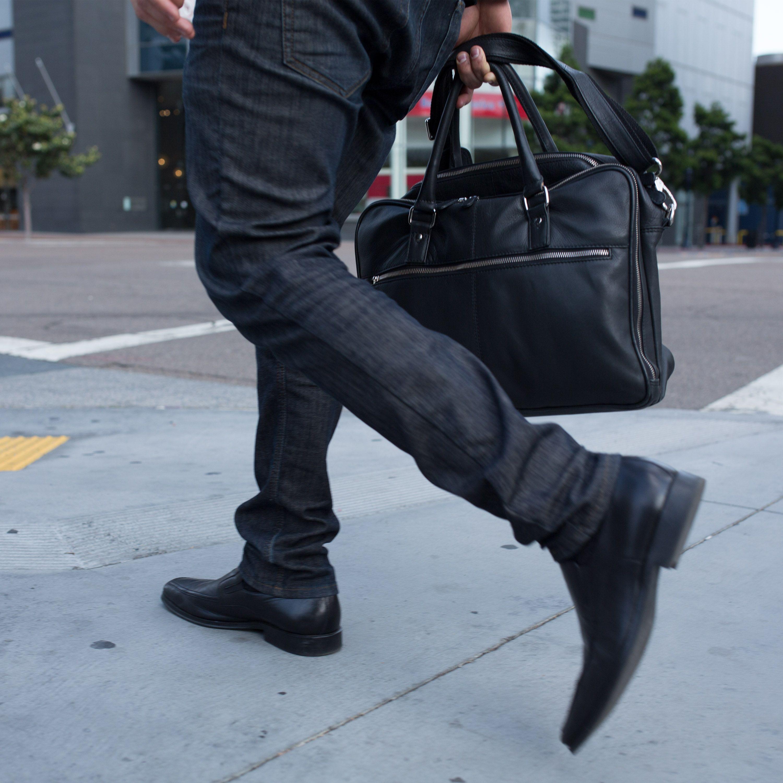 A Silent Pocket Faraday briefcase with a sleek & minimal