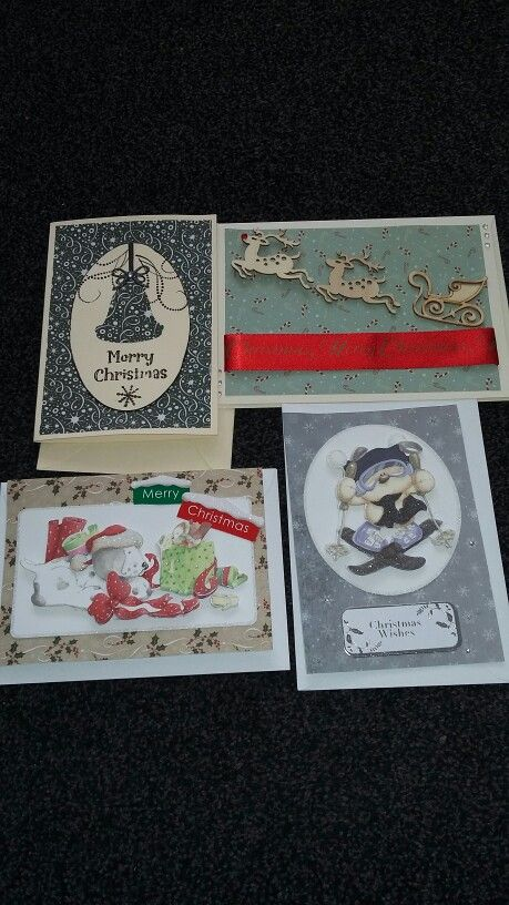christmas cards stamped decoupage kits dec 15 card craft