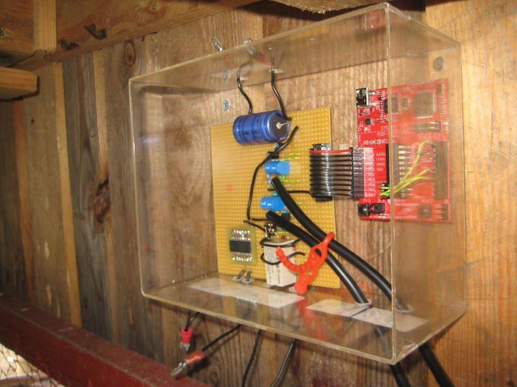 chicken coop door idea