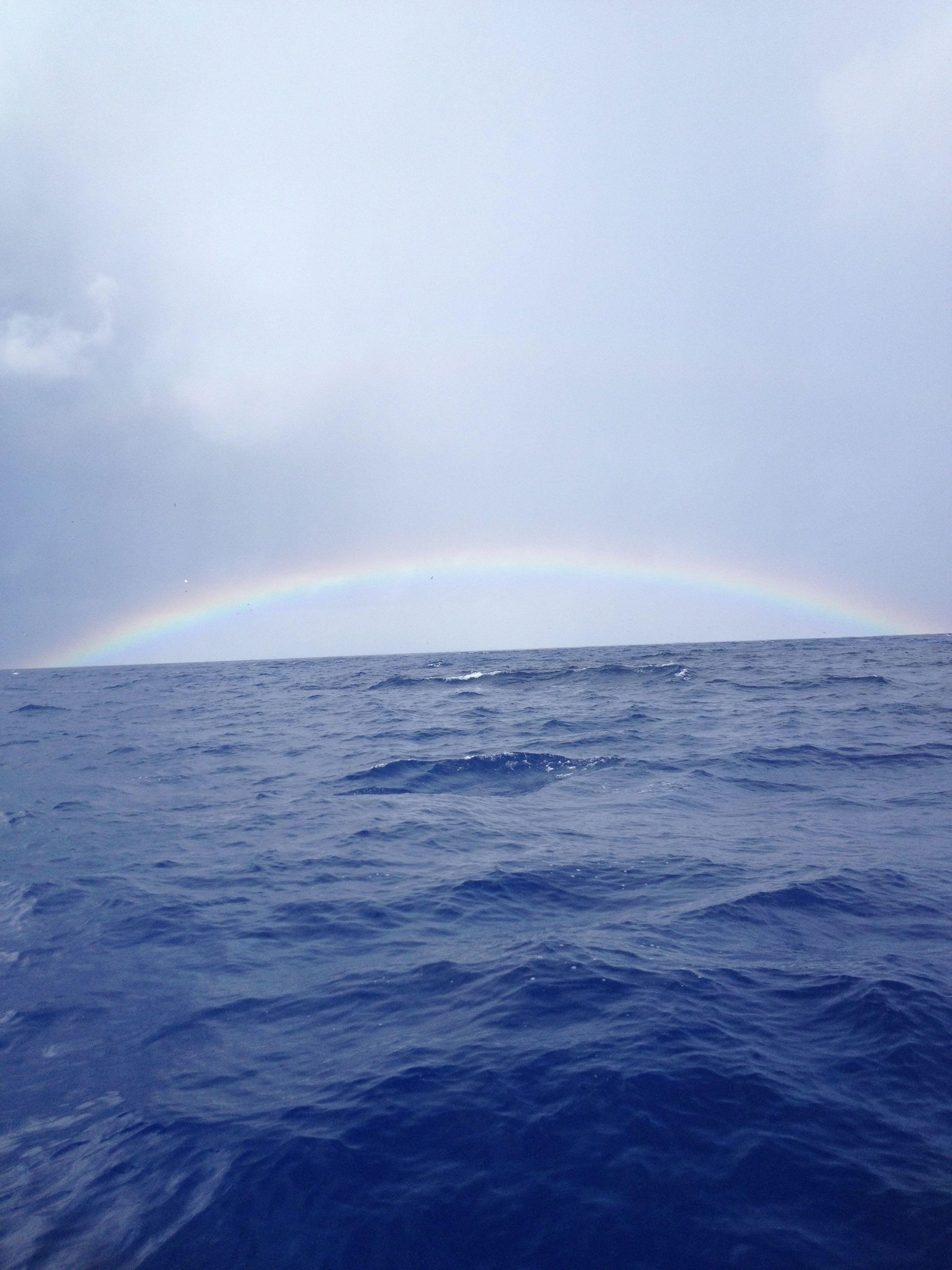 Anybody see a rainbow today? #fearlessfishing #cpatjoehendrix #misterweatherman