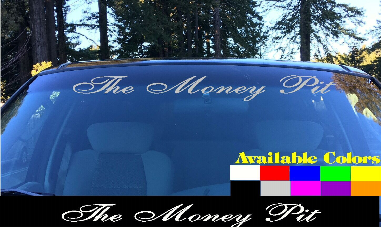 Dirty Diesel window banner 22/'/' decal vinyl car sticker