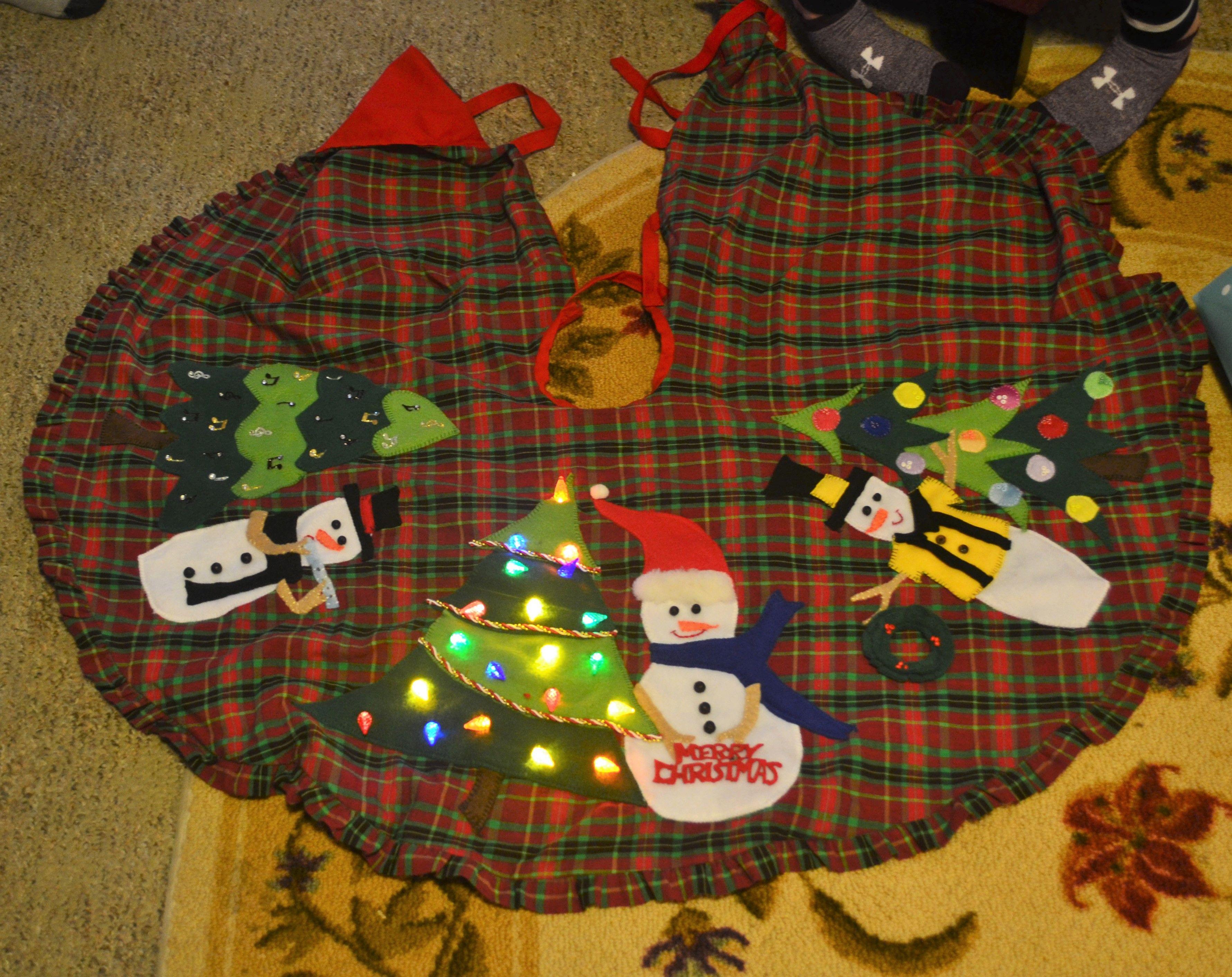 Music snowman, bowling snowman, light up tree snowman