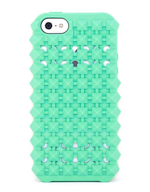 Studded Case for iPhone 5/5S – Mint