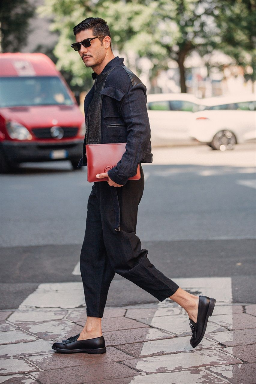 Milano Moda Uomo Street Style Primavera Estate 2019
