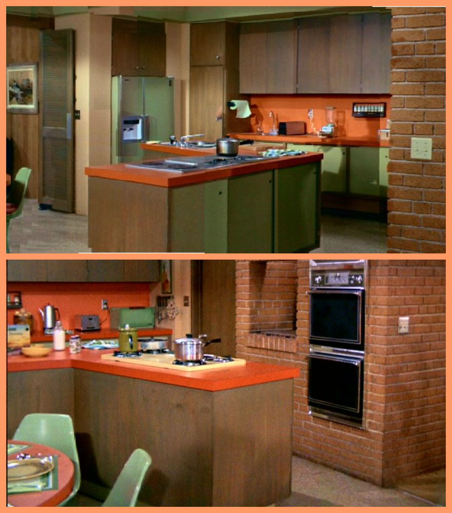 The Brady Bunch Kitchen Everyone Needed One Of These Of