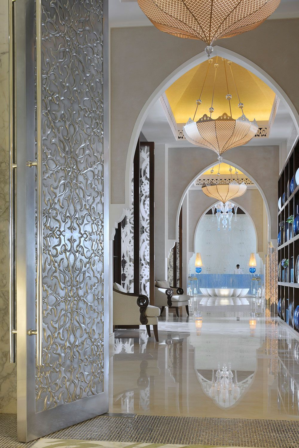 The doors one only the palm dubai by wa for International decor gates