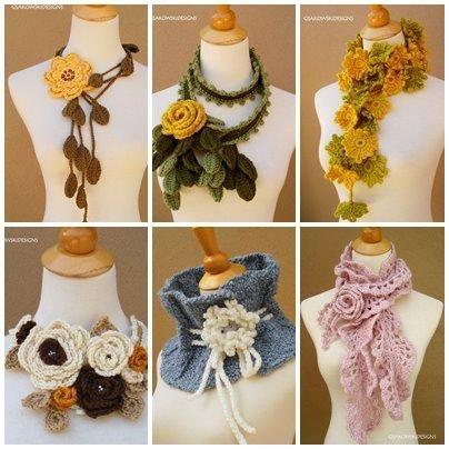Fotos de Cuellos tejidos a crochet hermosisisisisimos !   crafts ...