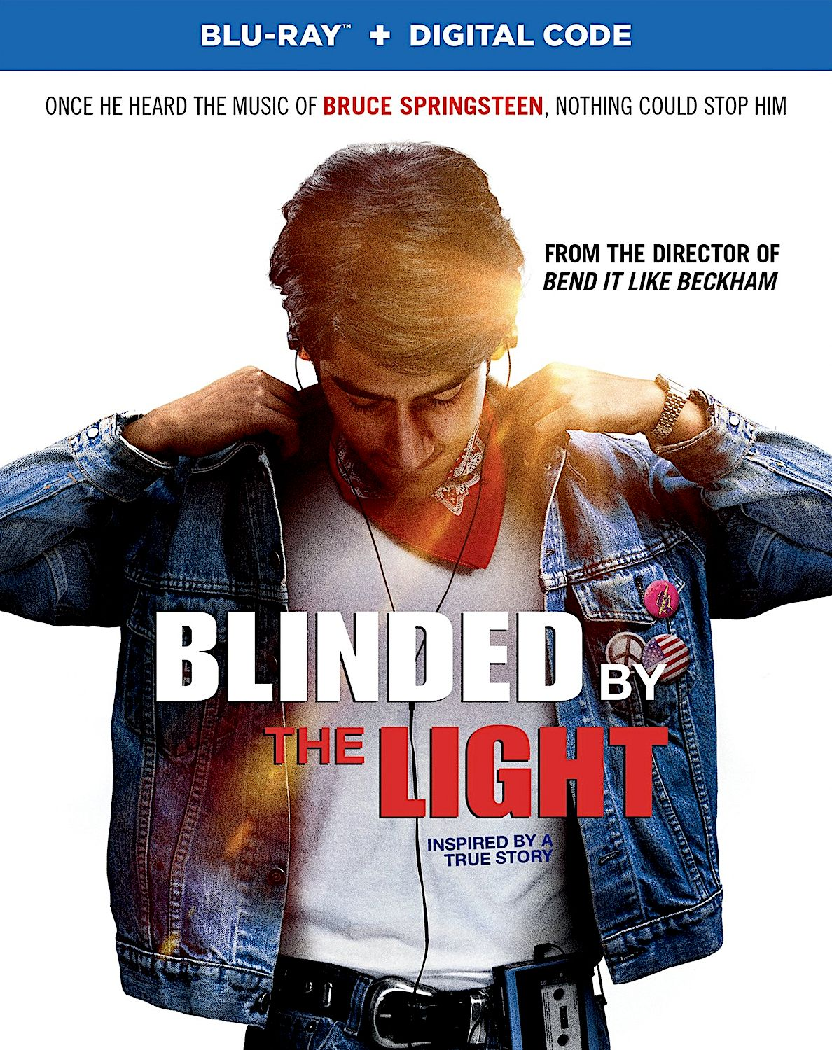 Blinded By The Light Blu Ray Warner Blinded By The Light Bruce Springsteen Songs Blu Ray