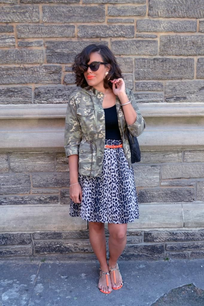 f9e952f5454a Mixed Print Overload: Leopard, Camo, Snake | style in 2019 | Animal ...