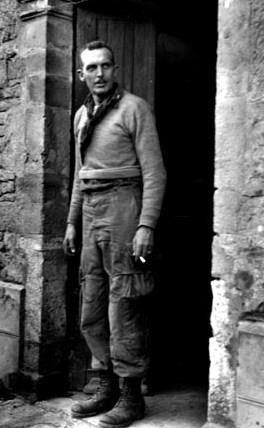 Colonel Sink commandant le 506th/101st   Angoville-au-Plain