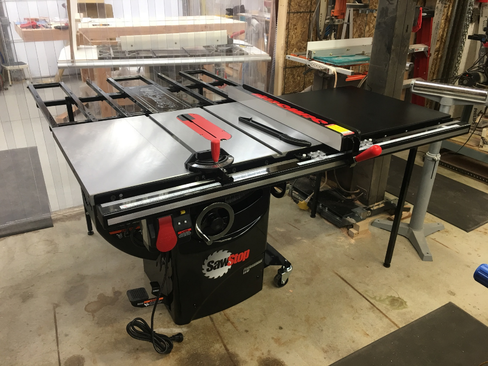 SawStop 3HP Professional Table Saw w/36'' Fence, Rails