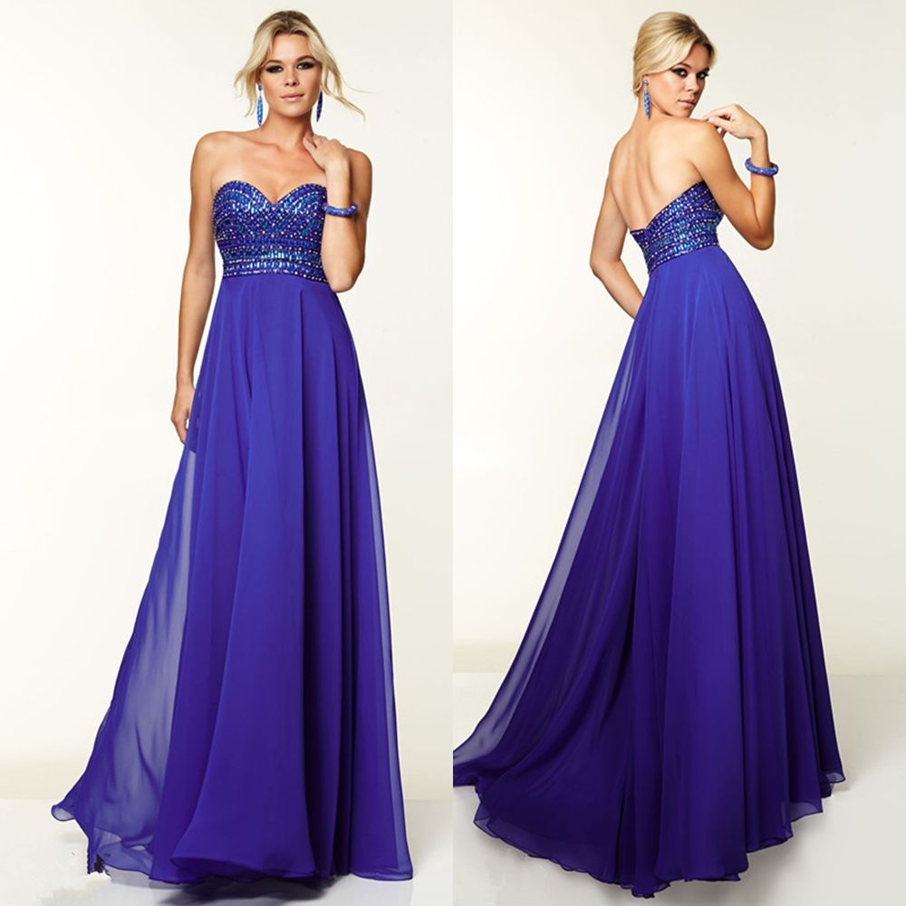 Hot Sale Prom Party Evening Dress Sexy Sweetheart  Dress