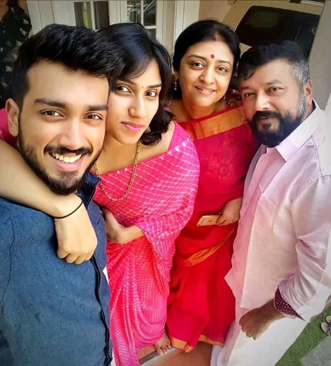 Image result for jayaram and family
