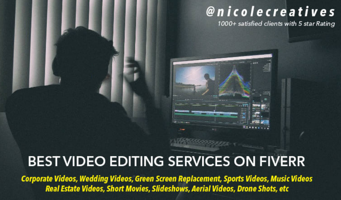I Will Do Professional Video Editing And Post Production In 2020 Video Editing Video Editing Apps Video Editing Software