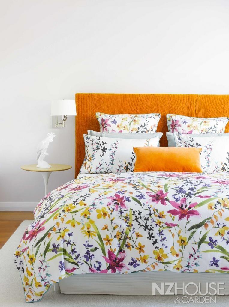 Spring fling NZ House and Garden Home trends, Bedroom