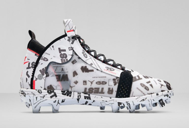 Can You Wear Baseball Cleats For Football Air Jordan 34 Xxxiv Cleats Baseball Football Sneaker Bar Detroit In 2020 Air Jordans Sneaker Bar Sneakers