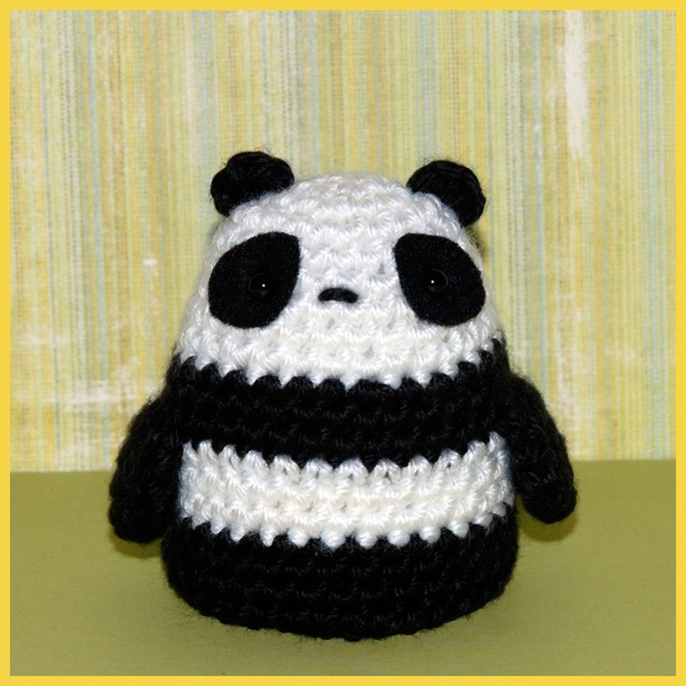 Crochet Pattern Amigurumi, Ming Panda Crochet patterns