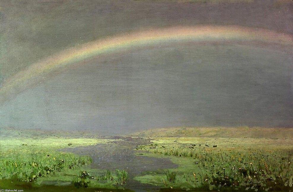 Rainbow over the marsh