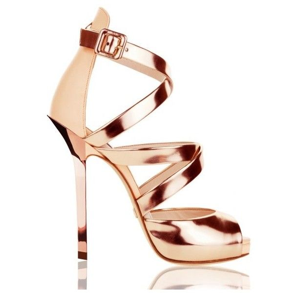 Deville Sandals Nude ($525) ❤ liked on Polyvore featuring shoes, sandals, nude shoes, nude sandals and nude footwear