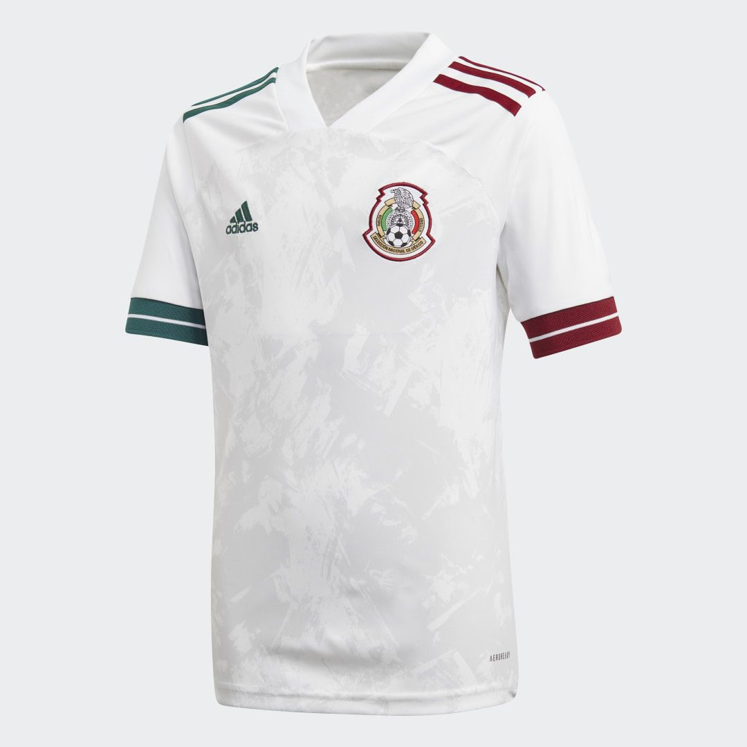 Adidas Mexico Away Jersey White Adidas Us In 2020 Mexico Away Jersey Soccer Jersey World Soccer Shop
