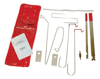 Lock Out Kit For Cars >> 9 Piece Universal Car Lockout Kit Pick A Lock Tool Kit