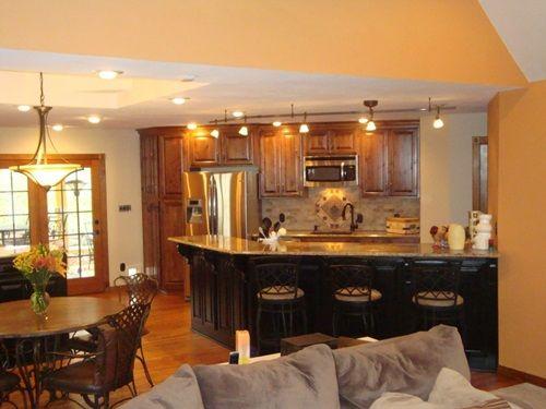 Open Kitchen To Living Room Designs Interior Design  Cocinas Magnificent Open Living Kitchen Design Design Ideas