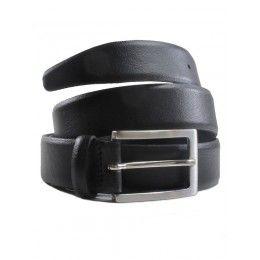 c18770d808dc Vegan mens smart belt in black by Wills London