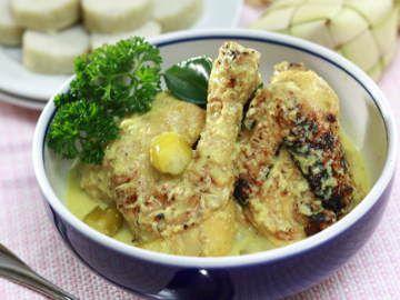 Resep Ayam Opor Ayam Bakar Resep Ayam Resep Makanan Kari Ayam