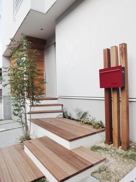 その先が見たくなる 素敵なアプローチのある家7選 庭 デザイン